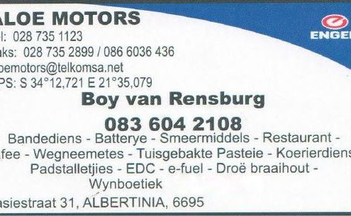 Engen Albertinia / Aloe Motors