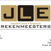 JLE Rekenmeesters/Accountants