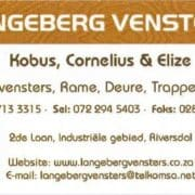 Langeberg Wooden windows & doors