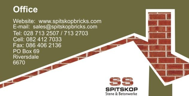 Spitskop Bricks & Concrete Products