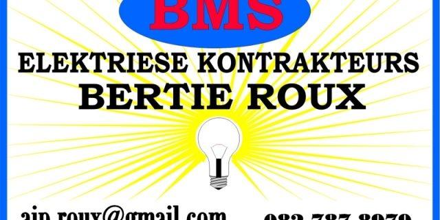 BMS Elektriese Kontrakteur / Electrical Contractors