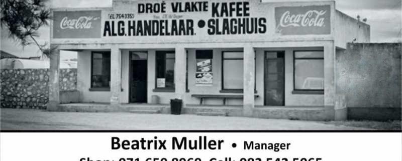 Droëvlakte Kafee algemene handelaar / Café and