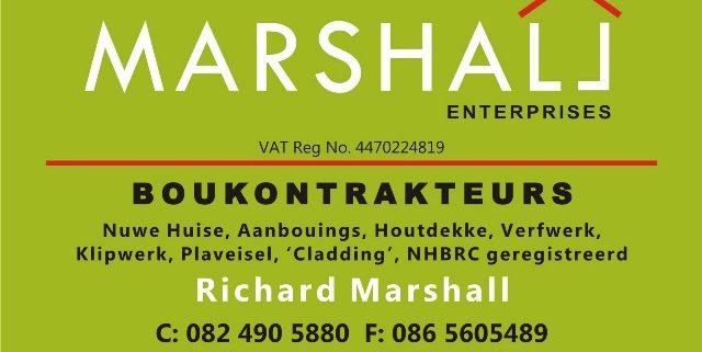 Marshall boukontrakteurs