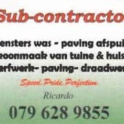 Sub Contractor Stilbaai
