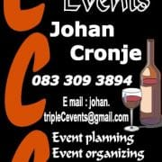 Triple C Events Johan Cronje