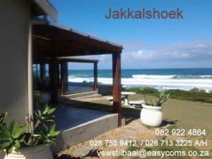 Jakkalshoek Beach house