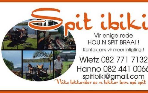 Spit ibiki Spit Braai