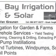 Bay Irrigation and Solar