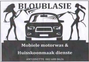 Bloublasie Mobiele Karwas
