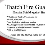 Thatch Fire Guard