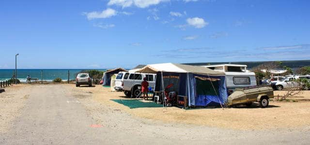 Witsand Caravan Park Middle Camp
