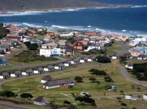 Jongensfontein Caravan park