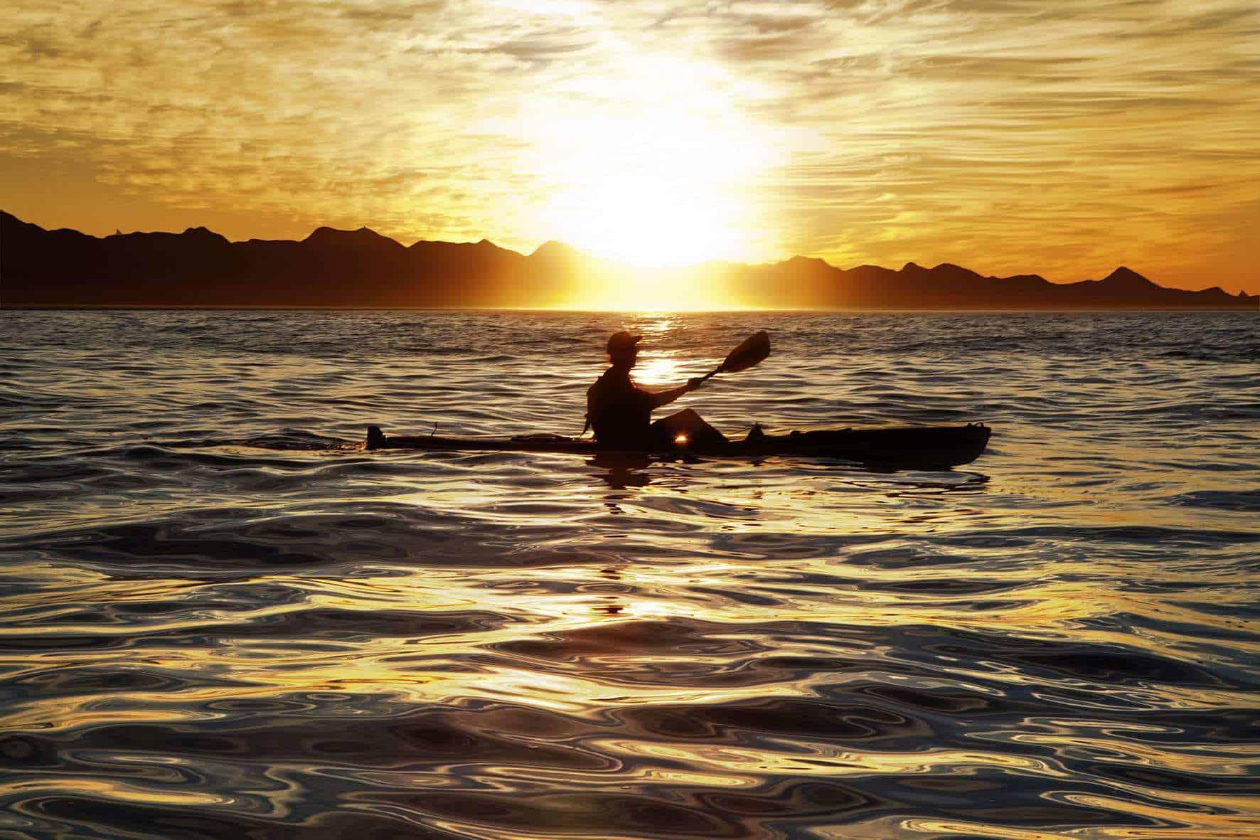 Plettenbrg Bayr Sunset Canoeing