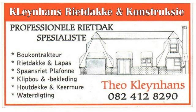 KleynhansThatching & Construction