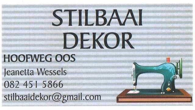Stilbaai Dekor - Still Bay Decor