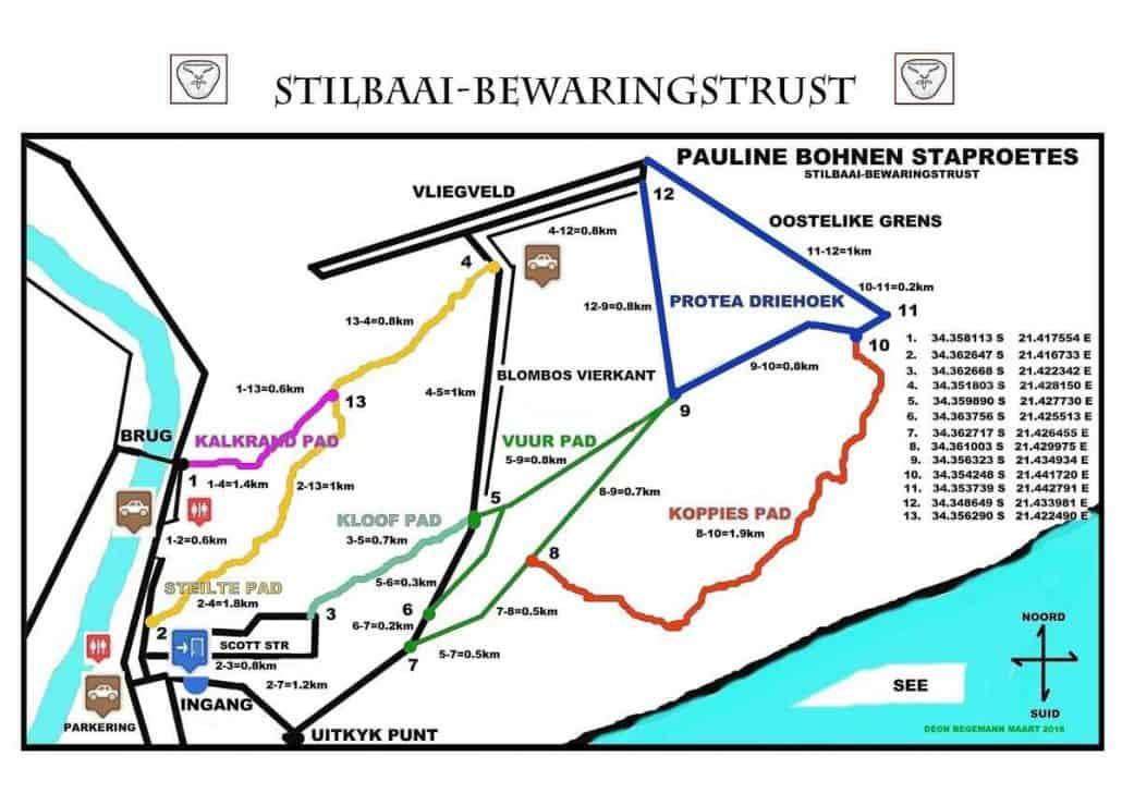 Stilbaai Pauline Bohnen Trail - Staproete