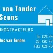 DJ van Tonder & Seuns Boukontra