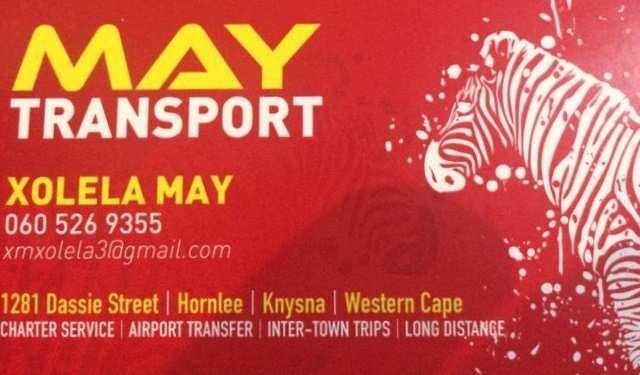 May Transport Knysna
