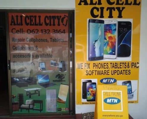 Ali Cellular City Cellular Repairs and Accesories Stilbaai